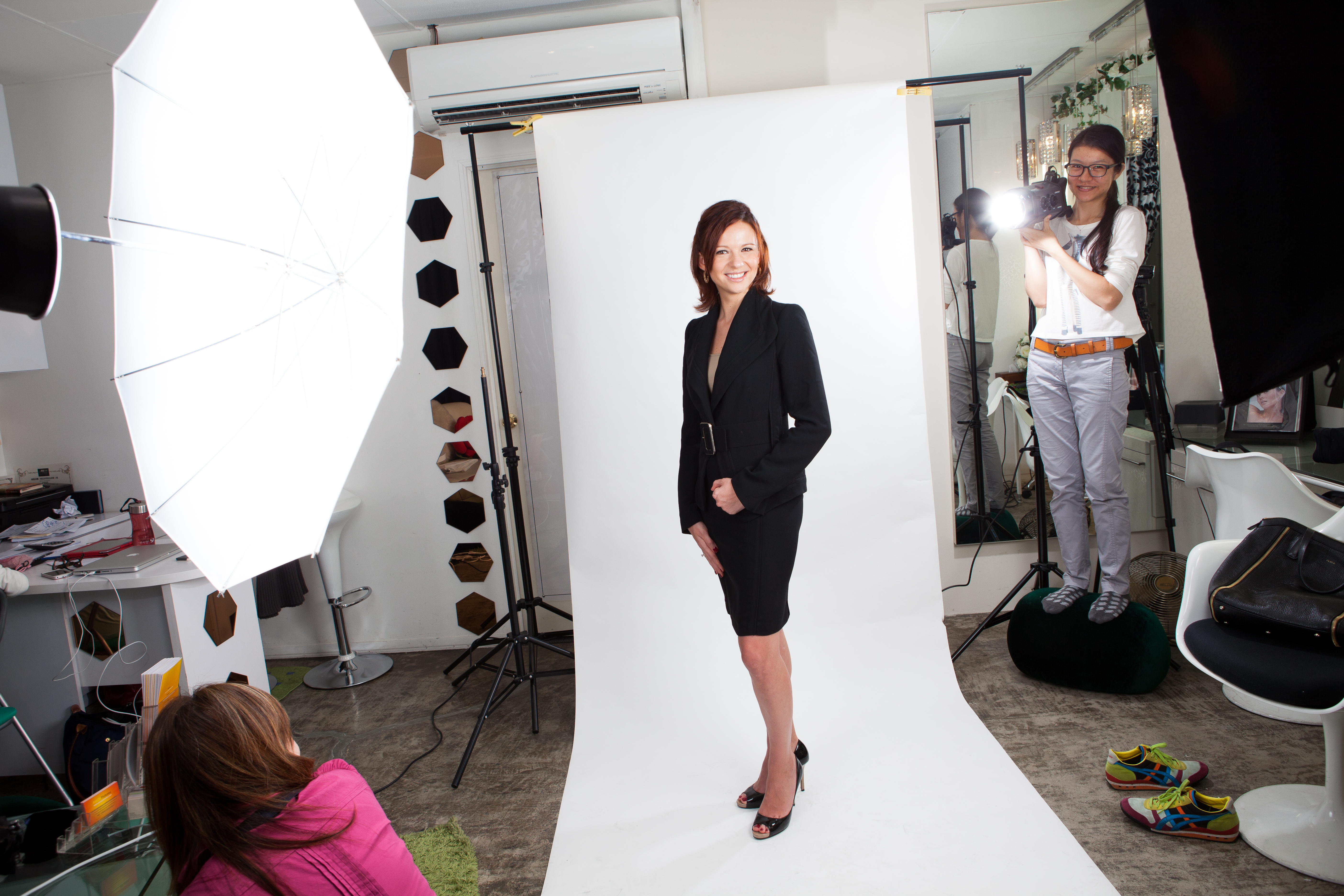 Corporate Photography by Halcyon Media Behind the scene